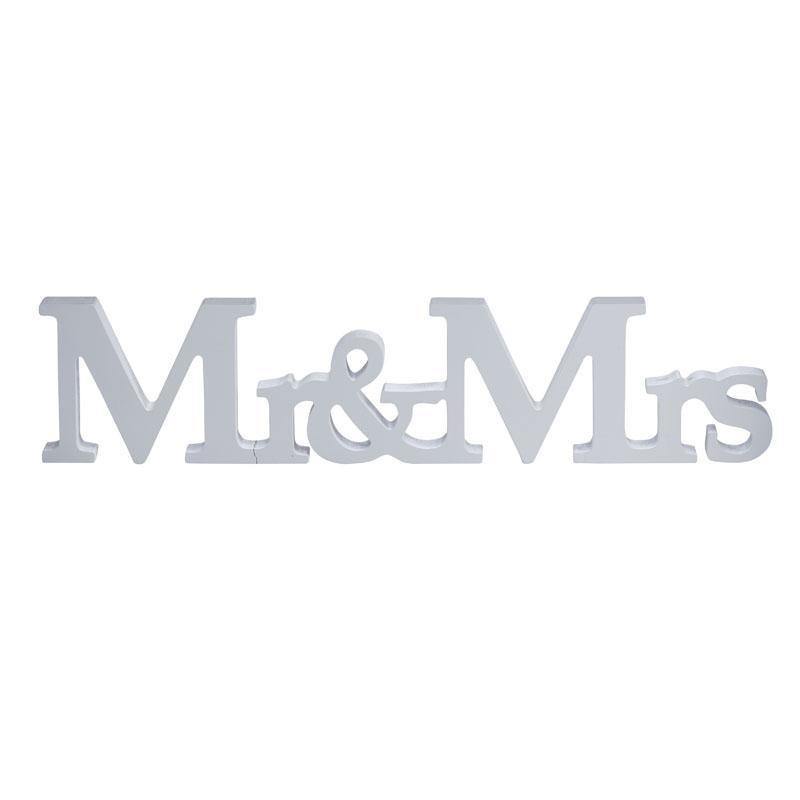 buy vintage affair mr mrs wooden sign ginger ray. Black Bedroom Furniture Sets. Home Design Ideas