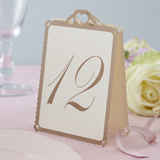 Love Struck - Table Numbers Ivory/Gold