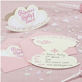Princess Party - Invitations